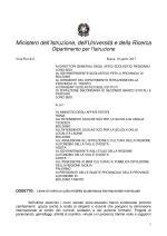 MIUR, nota prot. 843 del 10 Apr. 2013