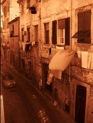 Narrow Road in Sassari
