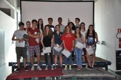 Gruppo volontari e studenti