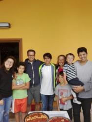 Nicolas e tutta la famiglia